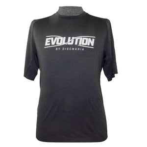 Discmania Evolution Logo Performance Short Sleeve Disc Golf T-Shirt