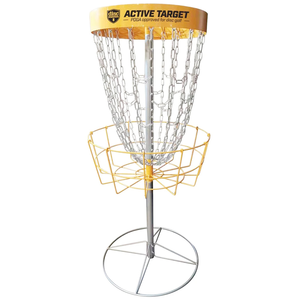 Discmania Active Target 18-Chain Disc Golf Basket