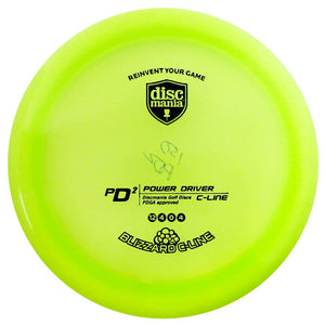 Discmania Blizzard C-Line PD2 Power Driver Distance Driver Golf Disc