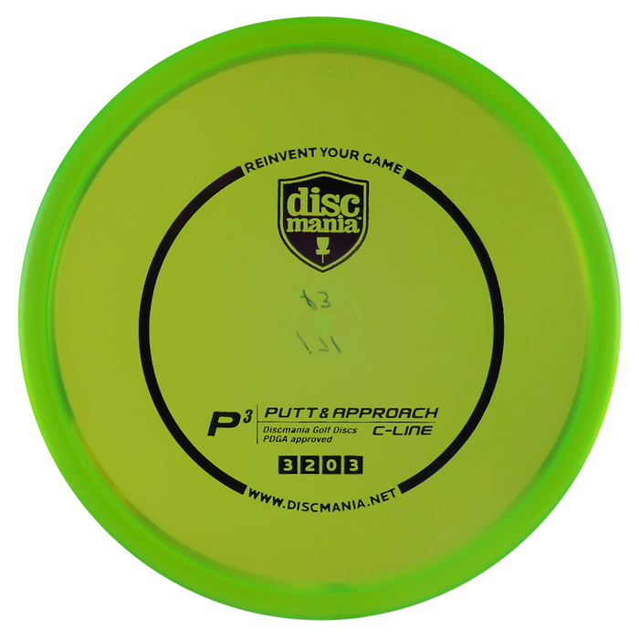 Discmania C-Line P3 Putt & Approach Putter Golf Disc