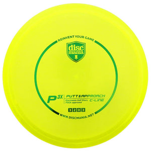 Discmania C-Line P3x Putt & Approach Putter Golf Disc