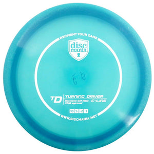 Discmania C-Line TD Turning Driver Distance Driver Golf Disc