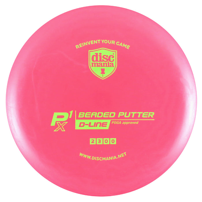 Discmania D-Line P1x Beaded Putter Golf Disc