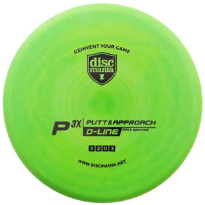 Discmania D-Line P3x Putt & Approach Putter Golf Disc