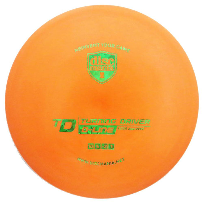 Discmania D-Line TD Turning Driver Distance Driver Golf Disc