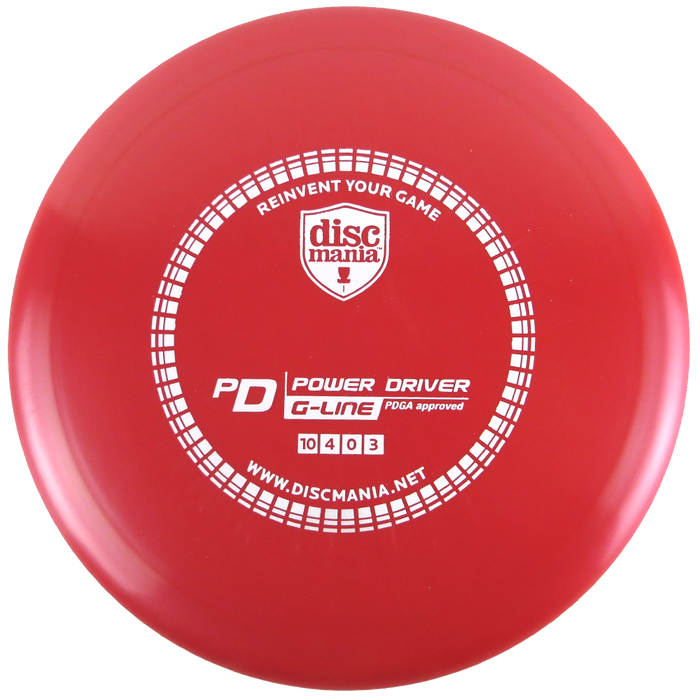 Discmania G-Line PD Power Driver Distance Driver Golf Disc
