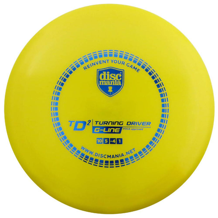 Discmania G-Line TD2 Turning Driver Distance Driver Golf Disc
