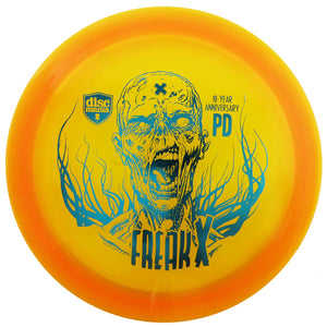 Discmania Limited Edition 10-Year Anniversary C-Line PD Freak Distance Driver Golf Disc