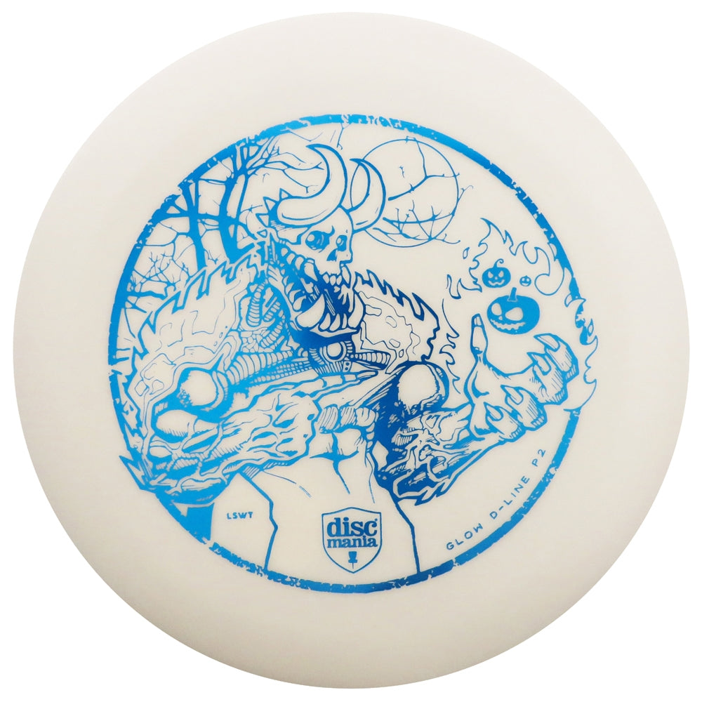 Discmania Limited Edition 2018 Halloween Glow D-Line P2 Pro Putter Golf Disc