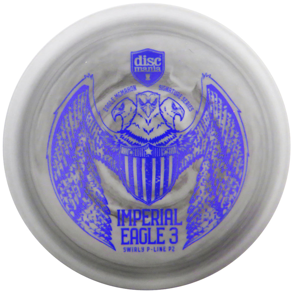 Discmania Limited Edition 2019 Signature Eagle McMahon Imperial Eagle III Swirly P-Line P2 Pro Putter Golf Disc