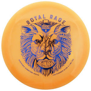 Discmania Limited Edition 2019 Signature Leo Piironen Royal Rage Color Glow C-Line FD2 Fairway Driver Golf Disc