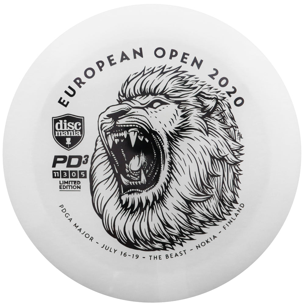 Discmania Limited Edition 2020 European Open Glow C-Line PD3 Distance Driver Golf Disc