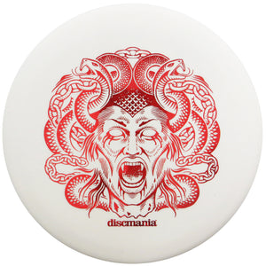 Discmania Special Edition 2020 Halloween Medusa Evolution Glow Lumen Hard Link Putter Golf Disc
