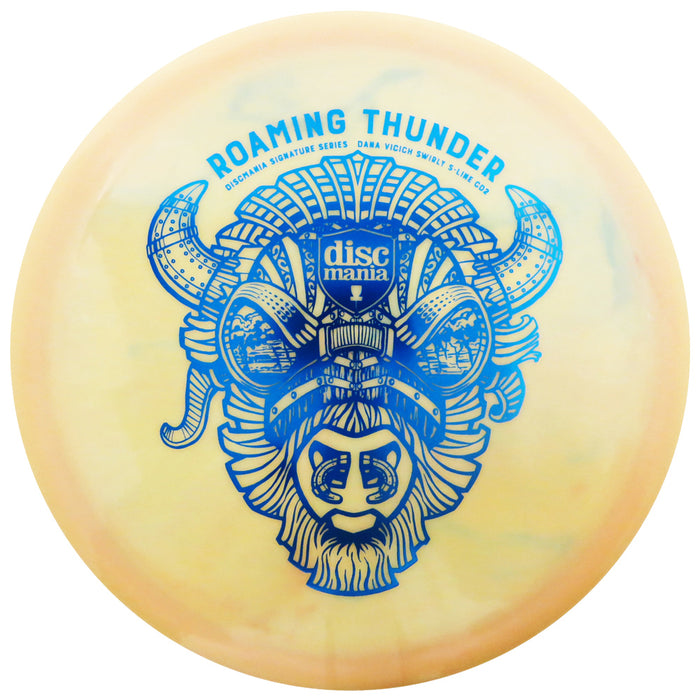 Discmania Limited Edition Signature Dana Vicich Roaming Thunder Swirly S-Line CD2 Control Driver Distance Driver Golf Disc