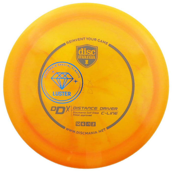 Discmania Limited Edition Luster C-Line DDx Distance Driver Golf Disc