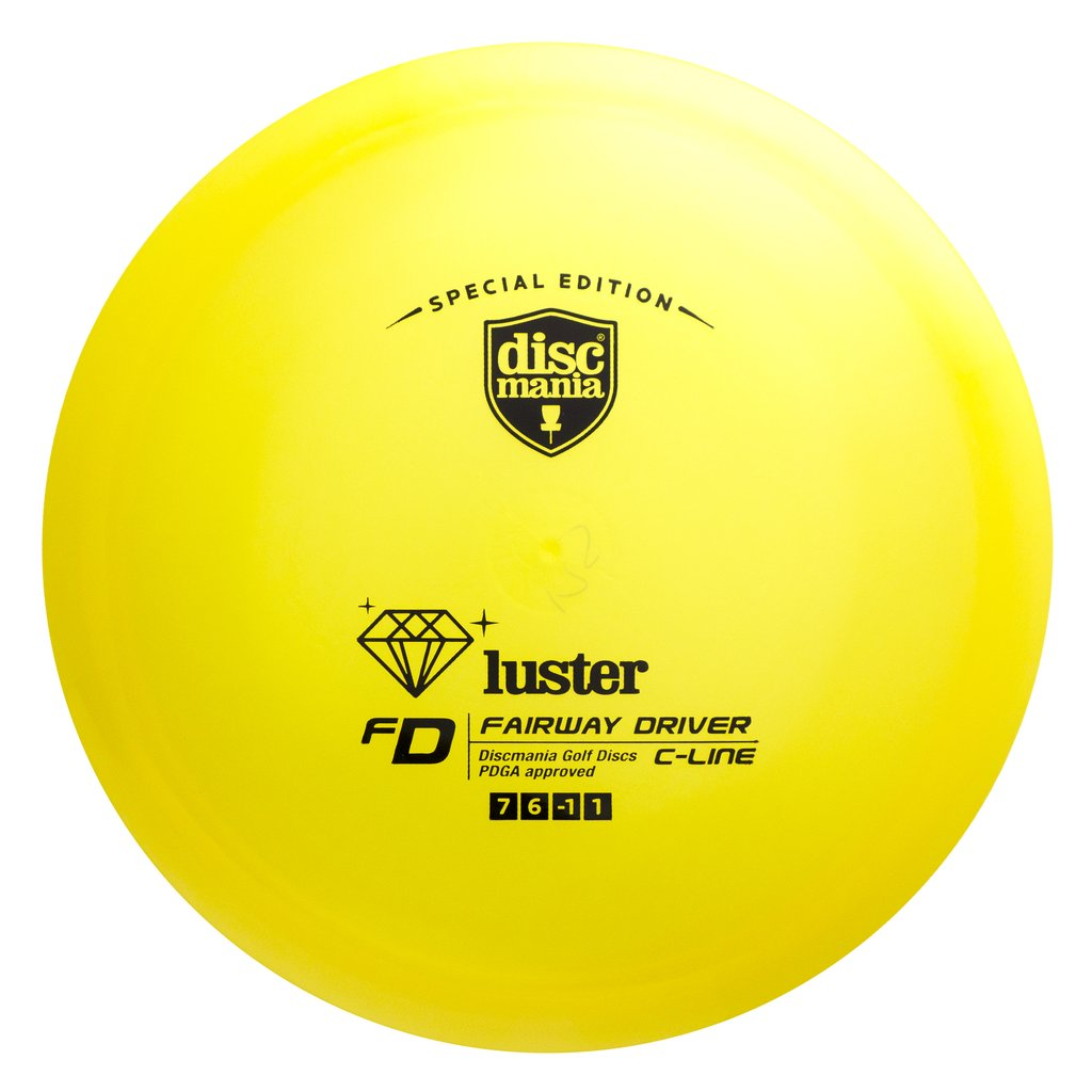 Discmania Limited Edition Luster C-Line FD Fairway Driver Golf Disc