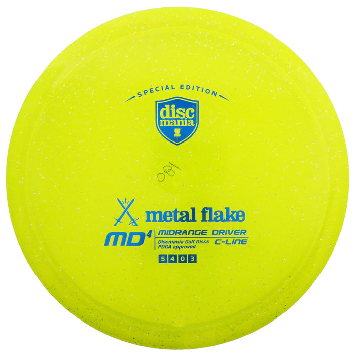 Discmania Limited Edition Metal Flake C-Line MD4 Midrange Driver Golf Disc