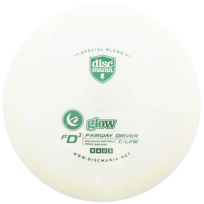 Discmania Limited Edition Glow C-Line FD3 Fairway Driver Golf Disc