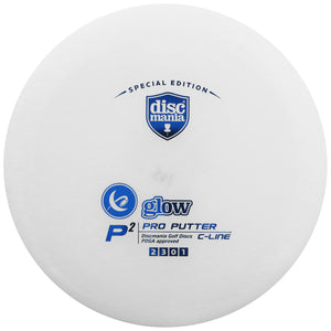 Discmania Limited Edition Glow C-Line P2 Pro Putter Golf Disc