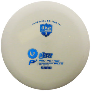 Discmania Limited Edition Glow P-Line P2 Pro Putter Golf Disc