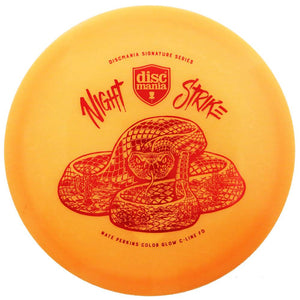 Discmania Limited Edition Signature Nate Perkins Night Strike Color Glow C-Line FD Fairway Driver Golf Disc