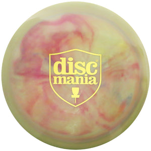 Discmania Limited Edition Shield Stamp Swirly S-Line FD Fairway Driver Golf Disc