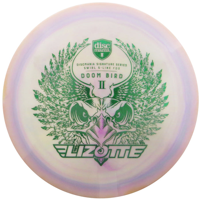 Discmania Limited Edition Signature Simon Lizotte Doom Bird II Swirly S-Line FD3 Fairway Driver Golf Disc