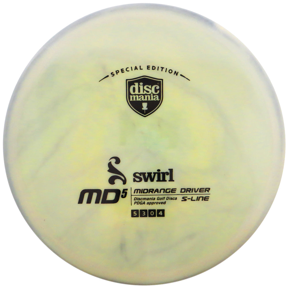 Discmania Limited Edition Swirly S-Line MD5 Midrange Golf Disc