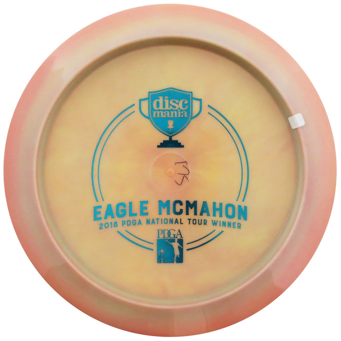 Discmania Limited Edition Triumph Series Eagle McMahon 2018 PDGA National Tour Winner Bottom Stamp Swirl S-Line PD2 Power Driver Distance Driver Golf Disc