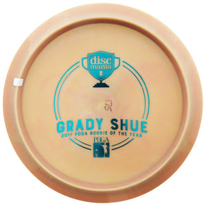 Discmania Limited Edition Triumph Series Grady Shue 2017 PDGA ROTY Bottom Stamp Swirly S-Line PD Power Driver Distance Driver Golf Disc