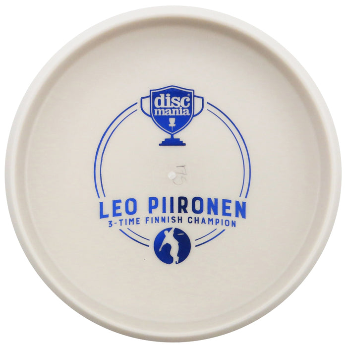 Discmania Limited Edition Triumph Series Leo Piironen 3X Finnish Champion Bottom Stamp D-Line P2 Pro Putter Golf Disc