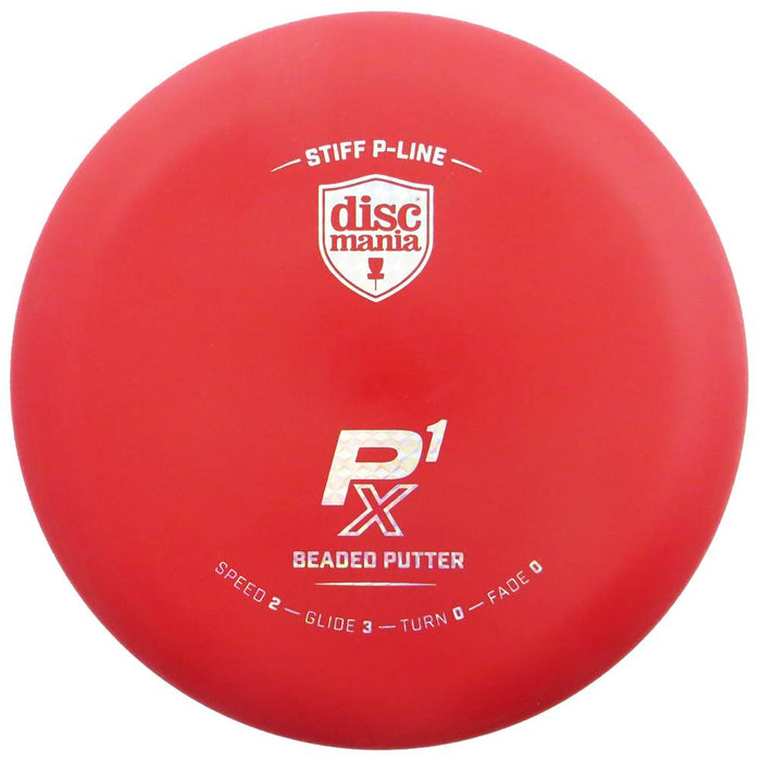 Discmania P-Line P1x Beaded Putter Golf Disc