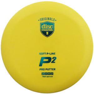 Discmania P-Line Soft P2 Pro Putter Golf Disc
