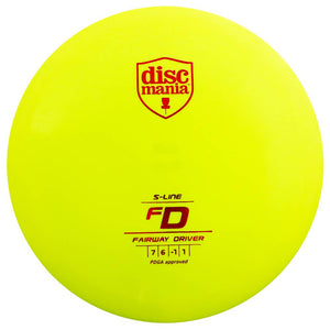 Discmania S-Line FD Fairway Driver Golf Disc