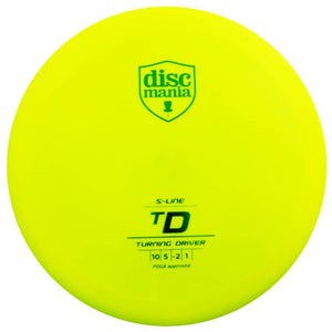 Discmania S-Line TD Turning Driver Distance Driver Golf Disc