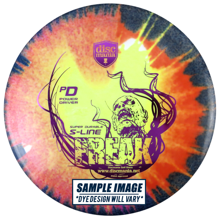 Discmania Tie-Dye S-Line PD Power Driver Distance Driver Golf Disc