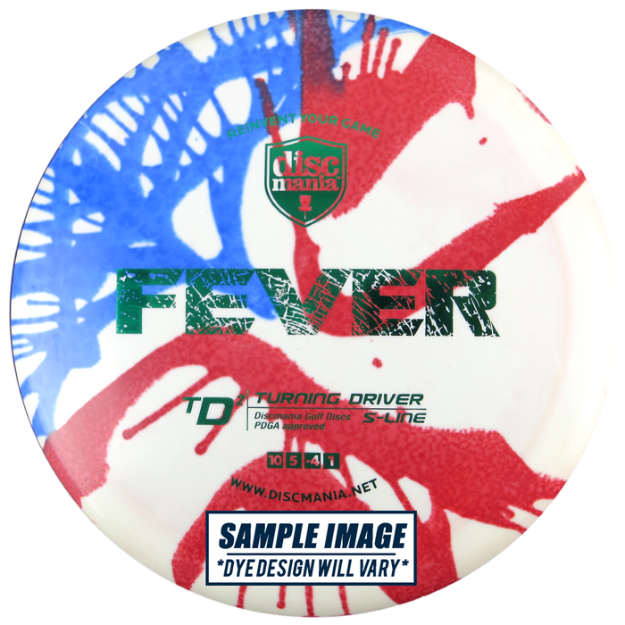 Discmania Tie-Dye S-Line TD2 Turning Driver Distance Driver Golf Disc