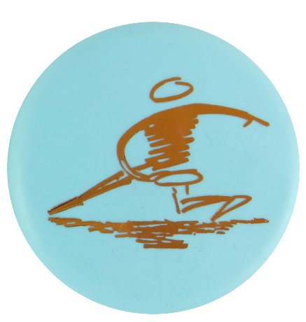 Disc Player Sports Logo Inter-Locking Mini Marker Disc