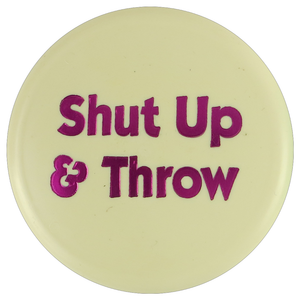 Disc Player Sports Shut Up & Throw Inter-Locking Mini Marker Disc