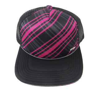 Pink Plaid / Black
