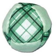Crazy 8 Plaid Footbag