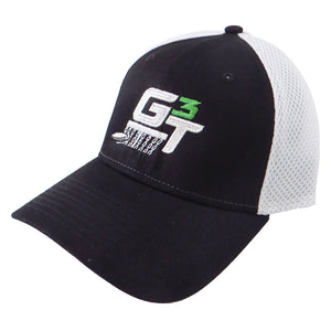 Gotta Go Gotta Throw G3T Logo Stretch Mesh Performance Disc Golf Hat
