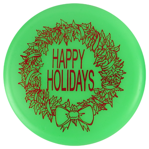 Gotta Go Gotta Throw Happy Holidays Inter-Locking Mini Marker Disc