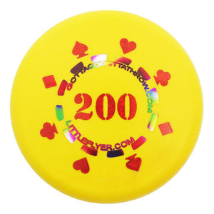 Gotta Go Gotta Throw Poker Chip 200 Inter-Locking Mini Marker Disc