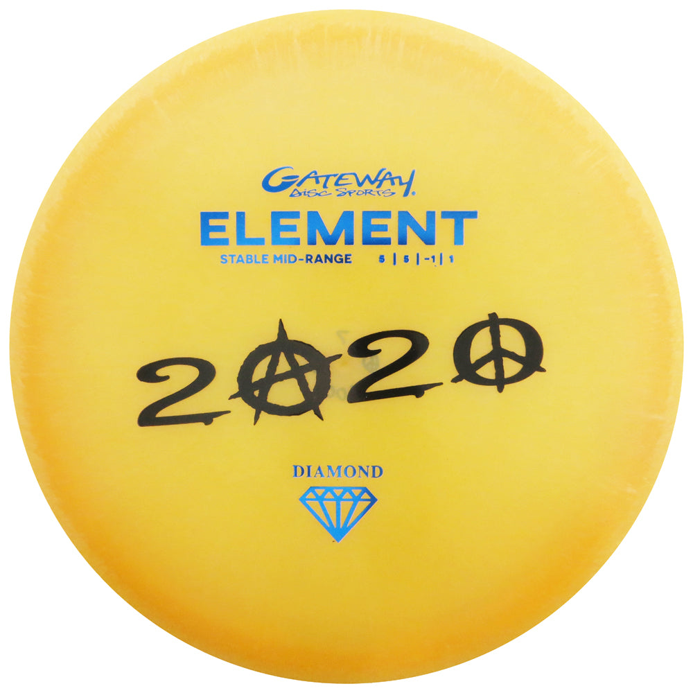 Gateway Limited Edition 2020 Matt Mayo Memorial Diamond Element Midrange Golf Disc [Limited Run of 100]
