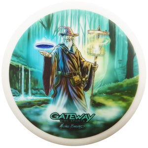 Gateway Limited Edition Artist Series V2 Full Color Diamond Wizard Putter Golf Disc