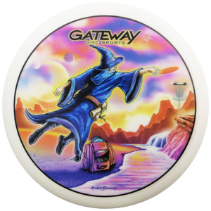 Gateway Limited Edition Artist Series V3 Full Color Diamond Wizard Putter Golf Disc