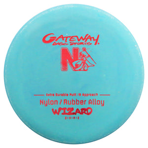 Gateway Nylon Rubber Alloy Wizard Putter Golf Disc
