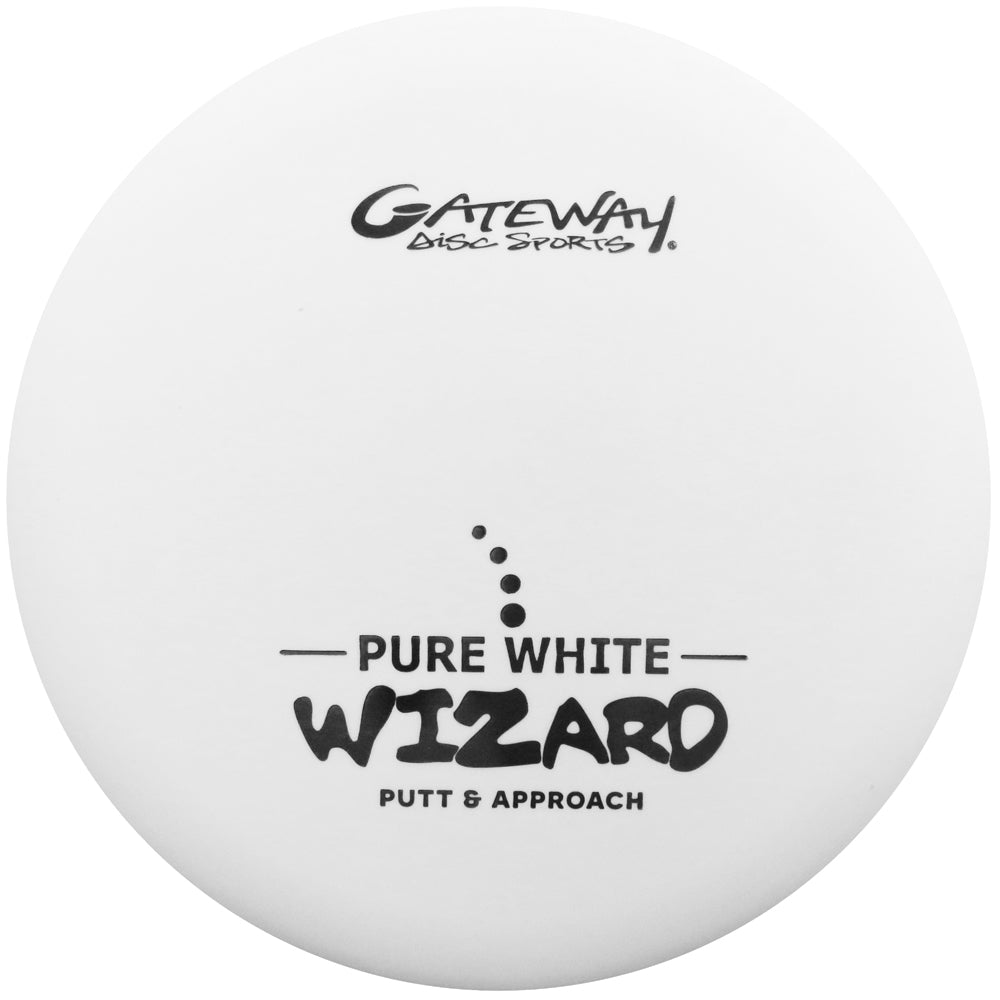 Gateway Pure White Wizard Putter Golf Disc