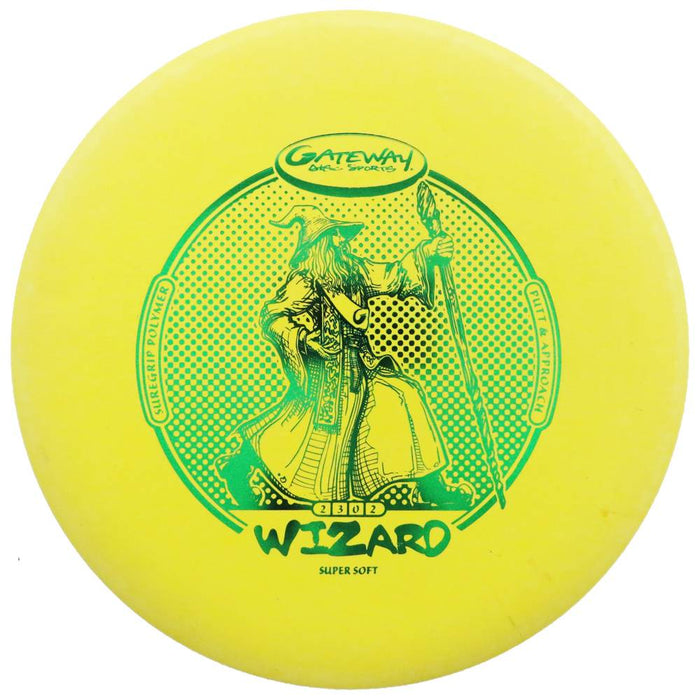 Gateway Sure Grip Super Soft Wizard Putter Golf Disc